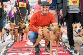 a perra Gamba gana la carrera canina de LDL to LDL