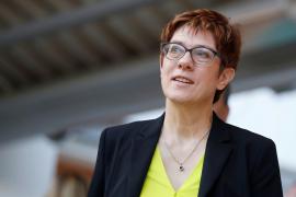 Kramp-Karrenbauer renuncia a suceder a Merkel