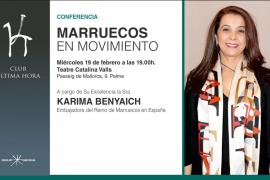 Karima Benyaich, embajadora del Reino de Marruecos, imparte en Palma la conferencia 'Marruecos en movimiento'