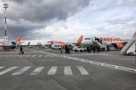 Vuelos cancelados en el aeropuerto de Palma por las tormentas en Europa