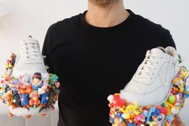Silvio 'Plástico' y el arte de reciclar