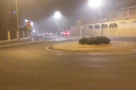 La intensa niebla obliga a espaciar los aterrizajes en Son Sant Joan