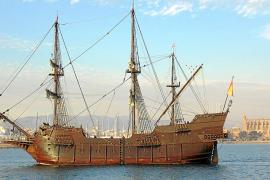 Llega a Palma el galeón 'Andalucía'