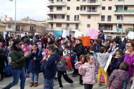 Los padres del colegio ses Comes de Porto Cristo reclaman una «solución urgente» para el retraso de las obras