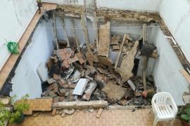 Alarma por el derrumbe de una terraza en Palma