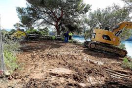 La demolición del chalet de Jardins del Rei dejará su sitio a una zona verde en Felanitx