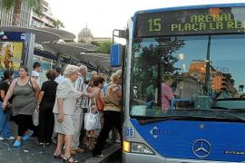 Los vecinos de Palma indignados con los cambios de la EMT protestarán llevando su coche al centro