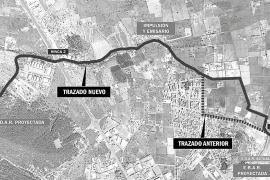 Mapa que muestra el nuevo trazado de las canalizaciones y el trazado anterior