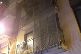 Una mujer, en estado crítico tras un incendio en Girona