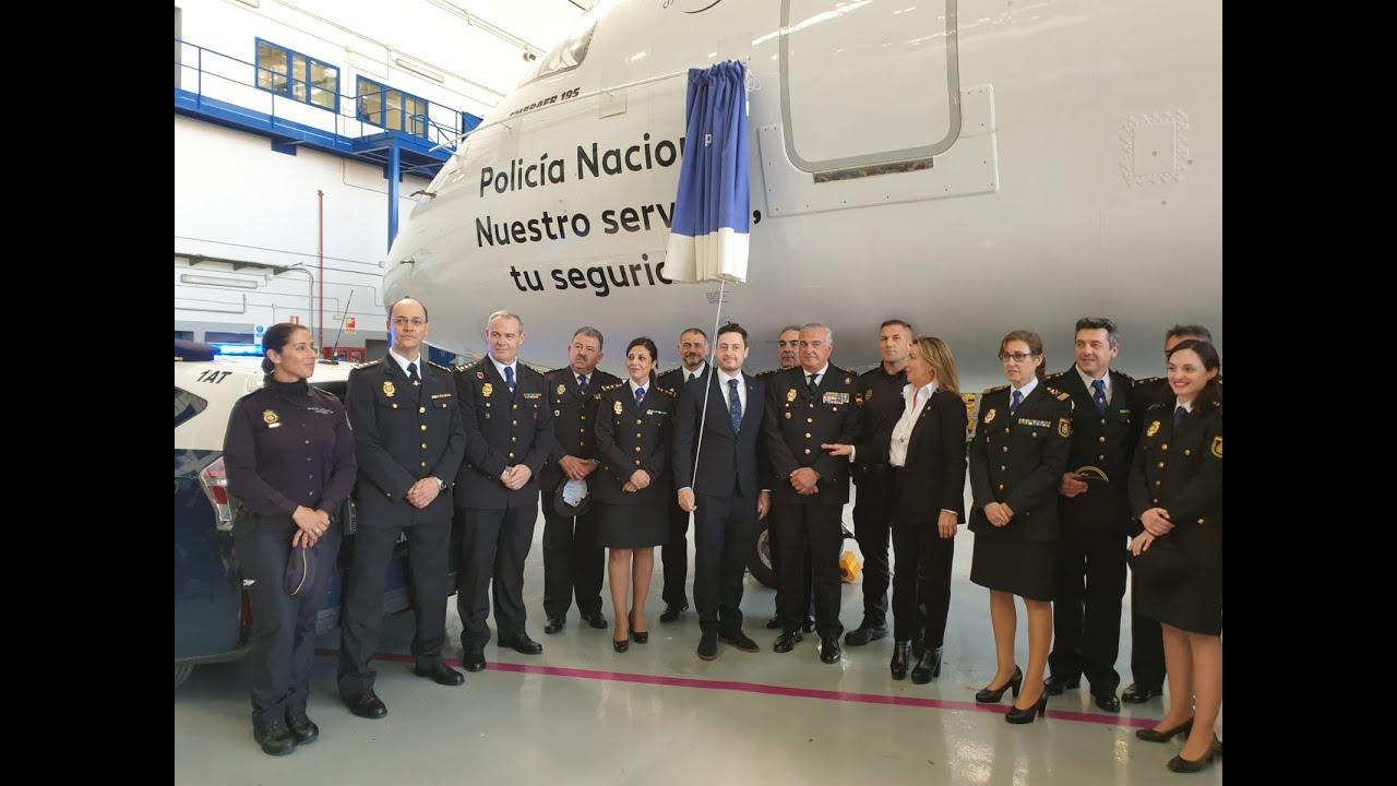 La Policía Nacional 'alza el vuelo' con un avión de Air Europa