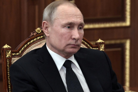Putin: «Mientras yo sea presidente no habrá matrimonio homosexual en Rusia»