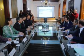 El Govern pide a AENA que cofinancie parte del tranvía de Palma al aeropuerto