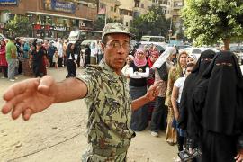 Egipto cierra la primera vuelta de las presidenciales sin incidentes