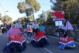 La Rua de Marratxí se celebra este sábado con la participación de 16 comparsas