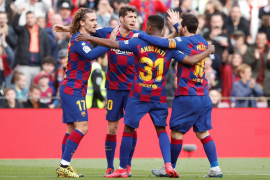 El Barça sufre para doblegar al Getafe