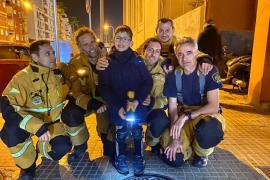 La bonita carta de un niño con una enfermedad rara a los bomberos de Palma