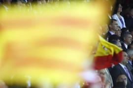 Sonora pitada durante el himno de España en la final de la Copa del Rey