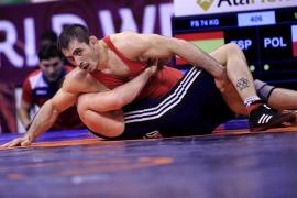 Taimuraz Friev cae en octavos del Europeo de lucha