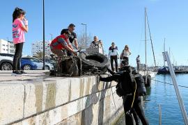 Pimeef apoya a Es Nàutic en su iniciativa en la bahía de Portmany