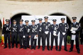 La Policía Local de Palma se viste de gala para celebrar su 'diada' en el Castell de Bellver