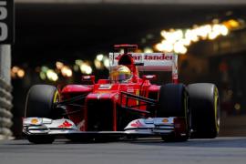 Alonso: «Estoy contento con el  quinto puesto pero un poco triste por Schumacher»