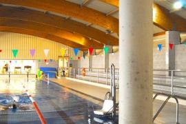 Imagen de la piscina cubierta de Lloseta