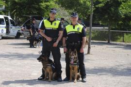 La Unidad Canina entra en acción