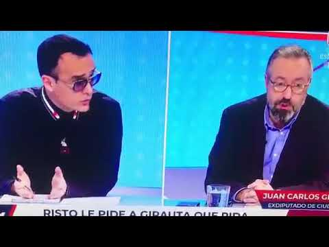 Risto Mejide expulsa del plató a Juan Carlos Girauta