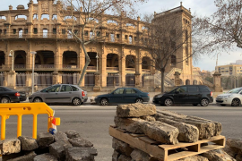 La Federación de Asociaciones de Vecinos de Palma califica de «expolio» la retirada de adoquines
