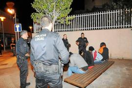 Nueva redada nocturna contra la prostitución callejera en Magaluf