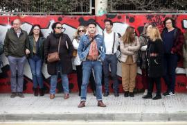La protesta judicial en el Cetis, en imágenes .