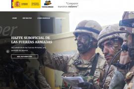 Convocadas 90 plazas para nuevos soldados en Mallorca