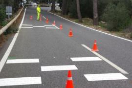 El Consell de Mallorca reduce la velocidad en algunos tramos de las carreteras de la Serra