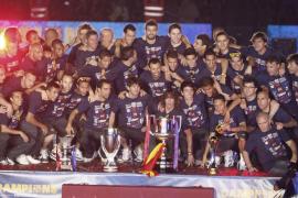 La 'era Guardiola' pone el punto y final con la decimocuarta fiesta en el Camp Nou