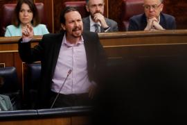 Iglesias reprende a PP y Vox por «descojonarse» en el Congreso cuando hablan de «niñas prostituidas»