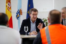 Feijóo rechaza ir en coalición con Ciudadanos tras hablar con Arrimadas