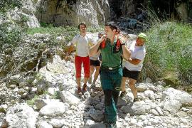 Herida grave una escaladora en Escorca