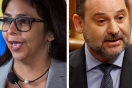 La Fiscalía investiga el encuentro entre Ábalos y la vicepresidenta de Venezuela