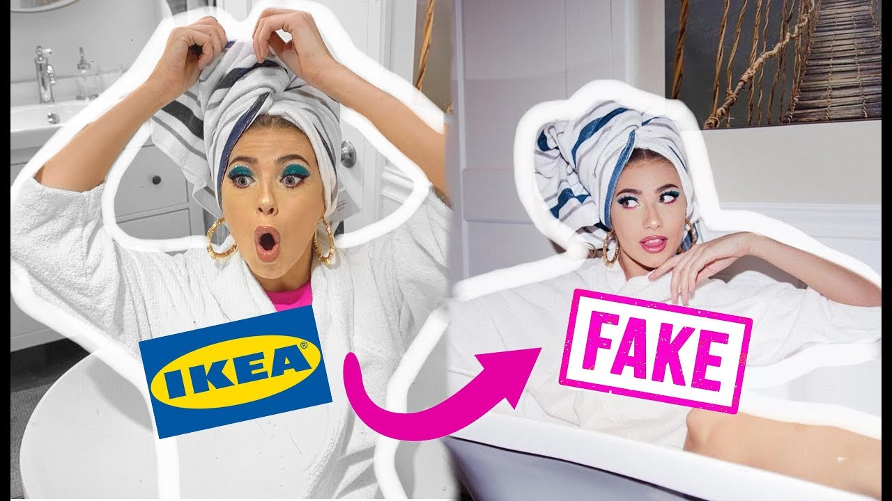 De vacaciones en Ikea: Así organizó una influencer el engaño a sus seguidores