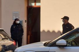 Despliegue policial en Palma en plena alerta de coronavirus por la enfermedad de una mujer china
