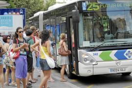 La EMT mejora la frecuencia de las líneas que unen Palma y s'Arenal