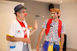Casi 24.000 niños hospitalizados en Baleares recibieron la visita de un payaso en 2019