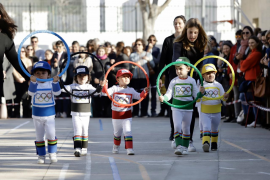 Cientos de escolares de Mallorca celebran su carnaval