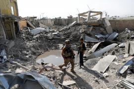 Imagen de archivo de un atentado que reivindicaron los talibanes en Kabul