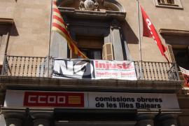 CCOO y sus banderas