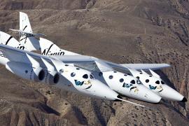 La nave espacial de Virgin Galactic realiza su primer vuelo de prueba