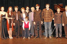 Entrega de premios del XIX Concurso Internacional de Piano Rotary Club Palma-Ramon Llull