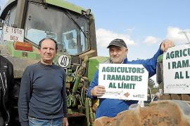Los payeses anuncian una tractorada para reclamar la dignificación del sector