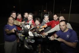 El hockey hierba masculino busca su espacio en Mallorca