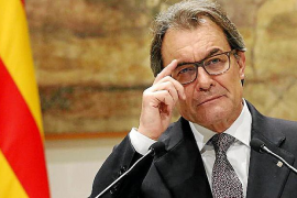 Artur Mas termina este domingo su inhabilitación